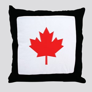 Big A** Maple Leaf Throw Pillow