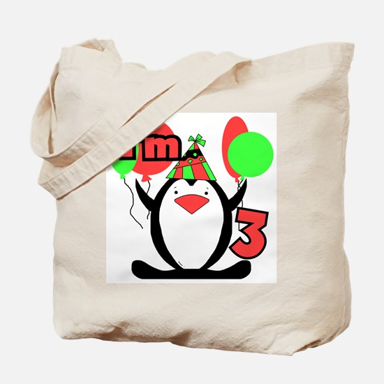 3rd Party Penguin Tote Bag