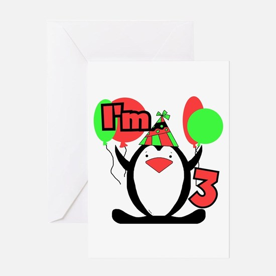 3rd Party Penguin Greeting Card