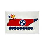 ILY Tennessee Rectangle Magnet (100 pack)