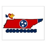ILY Tennessee Small Poster