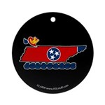 ILY Tennessee Ornament (Round)