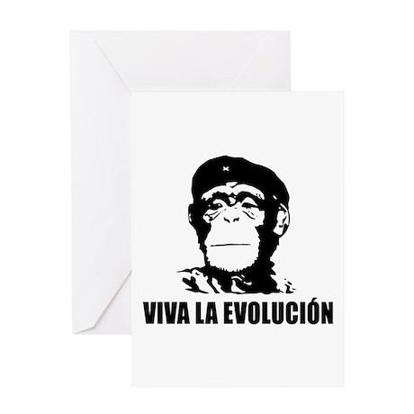 Atheism Evolution Greeting Card