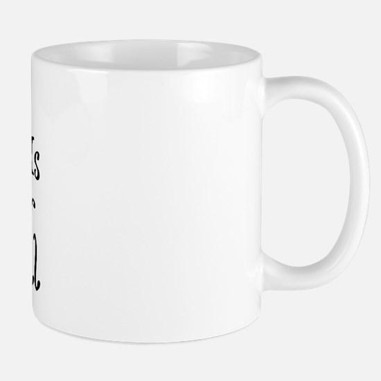 How I Roll Walker Mug