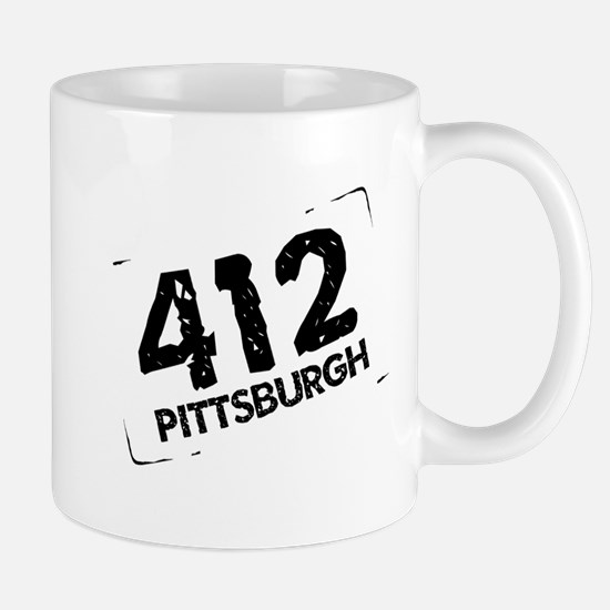 412 Pittsburgh Mug