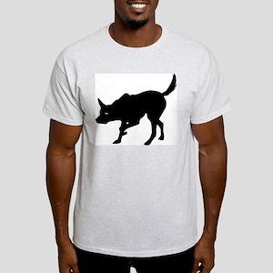 Australian Kelpie Ash Grey T-Shirt
