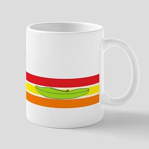 Creak boat on colors Mug