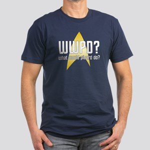 Star Trek: WWPD? Men's Fitted T-Shirt (dark)