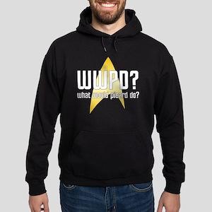 Star Trek: WWPD? Hoodie (dark)
