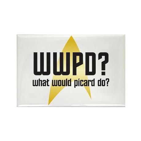Star Trek: WWPD? Rectangle Magnet