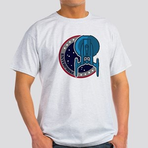 Enterprise Mission Patch (large) Light T-Shirt