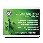 USGBC TGCC Lizard Mousepad