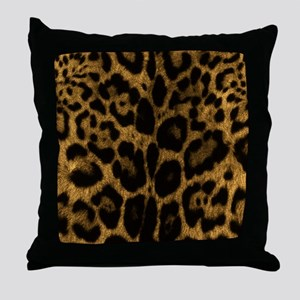 Jaguar Print Throw Pillow