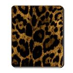 Jaguar Print Mousepad