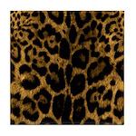 Jaguar Print Tile Coaster