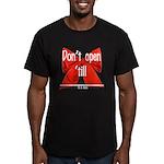 Dont Open Til ______ Men's Fitted T-Shirt (dark)