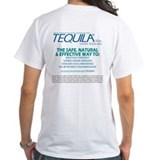 Tequila Mens Classic White T-Shirts