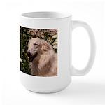 """White Borzoi """"Tersai"""" Large Mug"""
