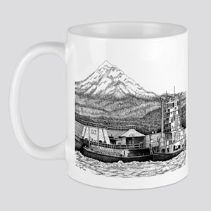 At Work on the Columbia Mug