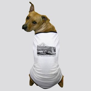 At Work on the Columbia Dog T-Shirt