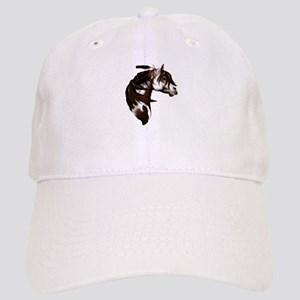 Feathered Paint Horse Cap