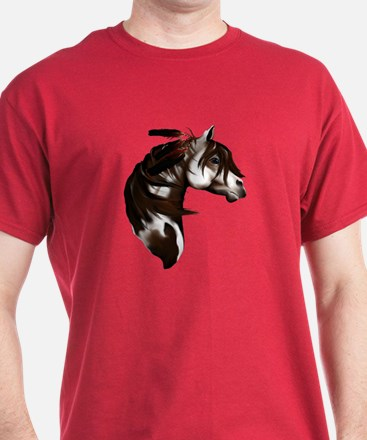 Feathered Paint Horse T-Shirt