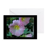 Hollyhocks Greeting Cards (Pk of 10)