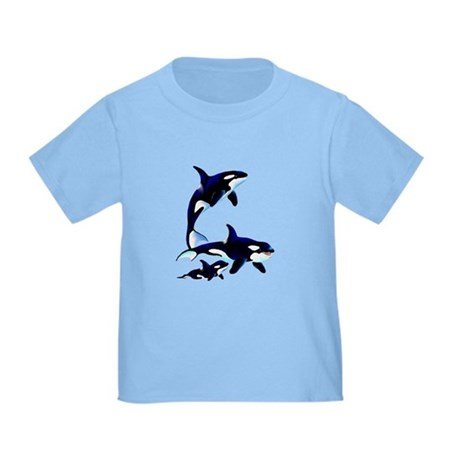 Killer Whale Family Toddler T-Shirt