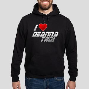 I Heart Deanna Troi Hoodie (dark)