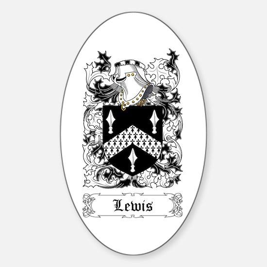 Lewis [English] Sticker (Oval)