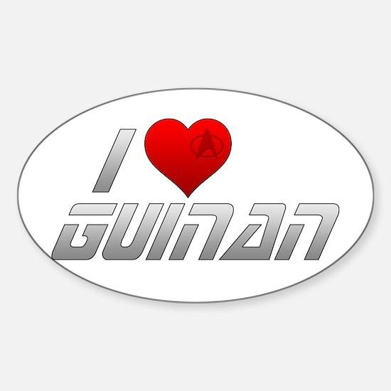 I Heart Guinan Sticker (Oval)
