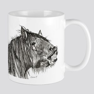 Cheeky Horse Mug