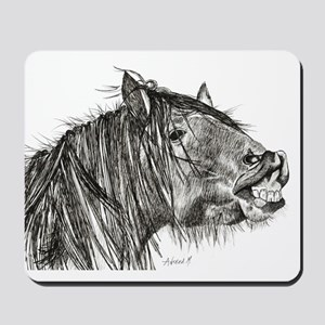 Cheeky Horse Mousepad