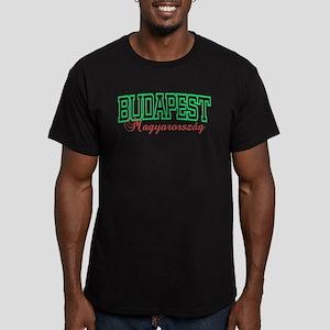 Budapest Lite Men's Fitted T-Shirt (dark)