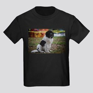 Landseer Newfie Kids Dark T-Shirt