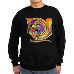 All You Need Is Love 60s Style Sweatshirt (dark)