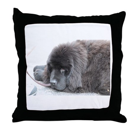 More Puppies Throw Pillow