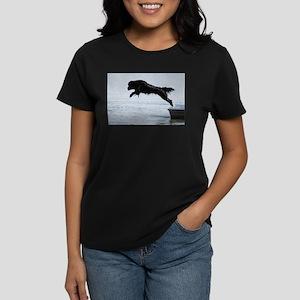 Water Dogs Women's Dark T-Shirt