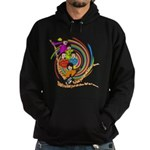 All You Need Is Love 60s Style Hoodie (dark)