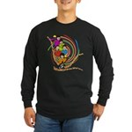 All You Need Is Love 60s Style Long Sleeve Dark T-