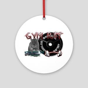 Gym rat Ornament (Round)