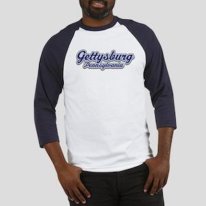 Retro Gettysburg PA Baseball Jersey