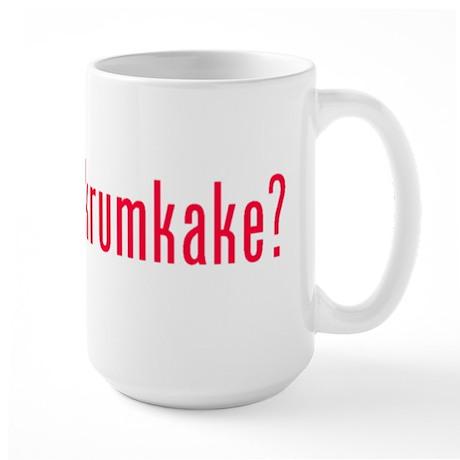 got krumkake? (red) Large Mug