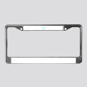 Pisces Baby License Plate Frame