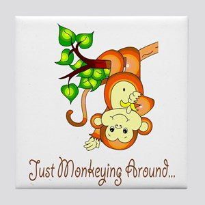 Just Monkeying Around... Tile Coaster