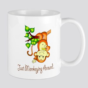 Just Monkeying Around... Mug