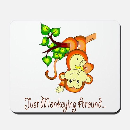 Just Monkeying Around... Mousepad