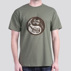 Violyin-Yang Dark T-Shirt