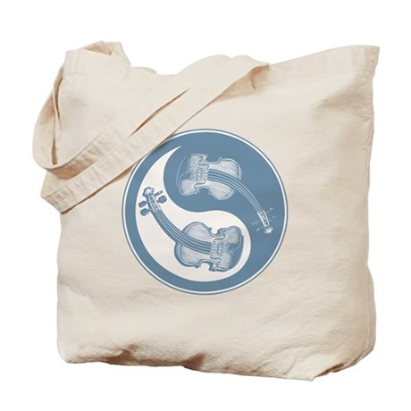 Violyin-Yang Tote Bag