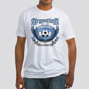 Argentina 2010 World Soccer Fitted T-Shirt